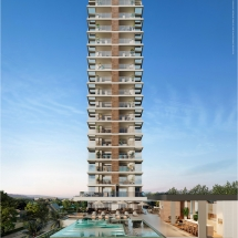 Breeze Tower - Fachada Frontal